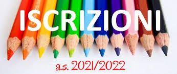 Iscrizione anno scolastico 2021/2022