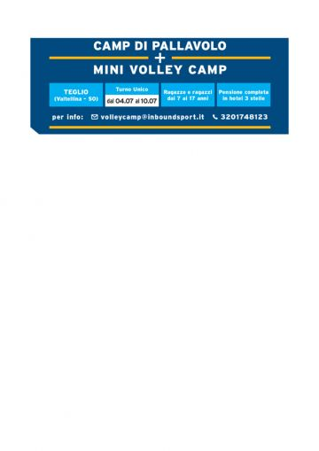 DAY ACE VOLLEY CAMP 2021